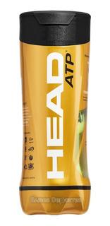 Tubo X 3 Pelotas Tenis Head Atp Gold Baires Deportes