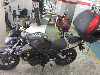Cb 500f- Preto Ano 2017 Único Dono Com 5000km - Honda