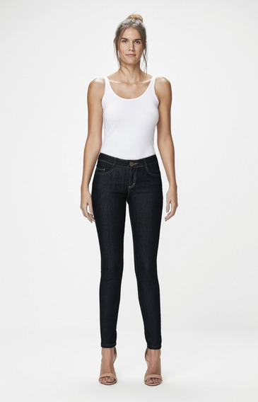 Calça Feminina Jeans Skinny Malwee
