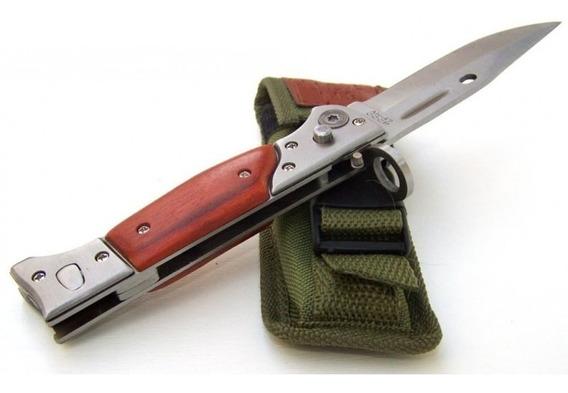 Navaja Ak 47 Bayoneta Ccp N°1 Tactica Funda Automatica