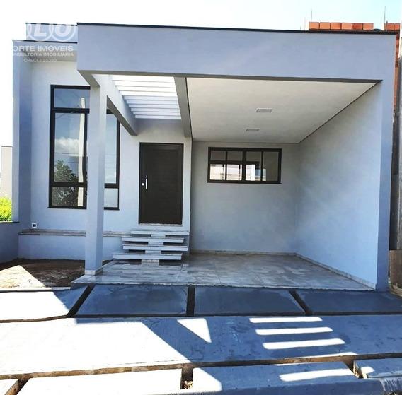 Casa Térrea 3 Quartos No Condomínio Jardins Do Império - Ca04729 - 34414703