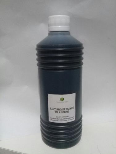 Humus Líquido De Lombriz (lixiviado)  500ml Sembrando Vida