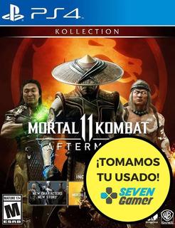 Mortal Kombat 11 Aftermath Kollection Ps4 Juego Fisico Nuevo