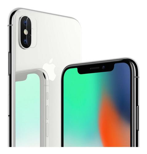 Imagen 1 de 4 de Vidrio Templado Para Camara Apple iPhone X Xs Xs Max