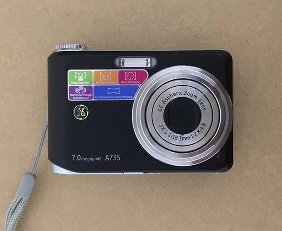 Câmera Ge A735 7.0 Megapixel Zoom Óptico 3x Usada