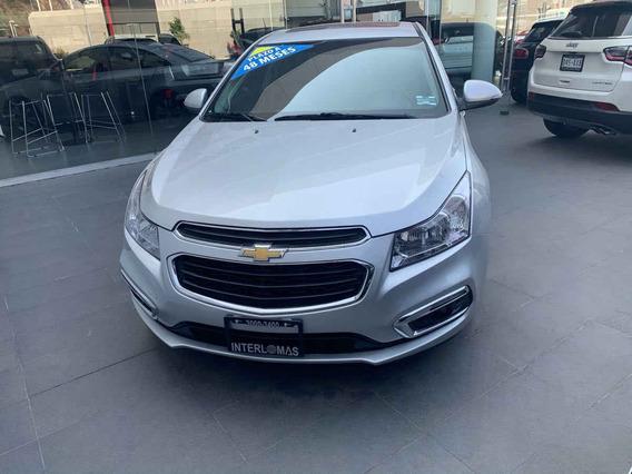 Chevrolet Cruze 2015 4p Ltz L4/1.4 Aut
