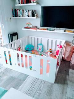 Corralito De Madera Para Bebes Plegable - 170x140
