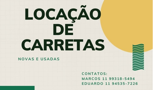 Aluguel De Carretas