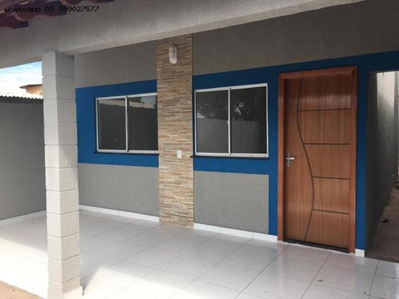 Casa Para Venda Em Várzea Grande, Canelas, 2 Dormitórios, 1 Banheiro, 1 Vaga - 237_1-1321643
