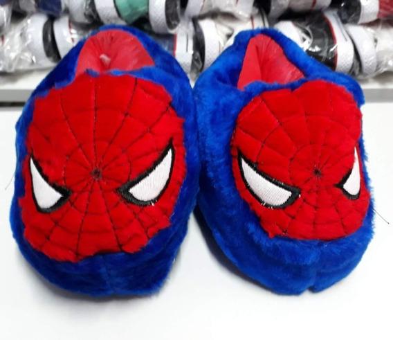 Pantuflas Infantiles Niños Hombre Araña Spiderman Casa David
