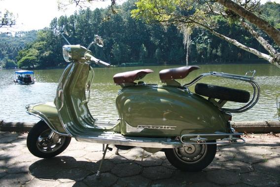 Lambretta Li - 1962 - Totalmente Restaurada
