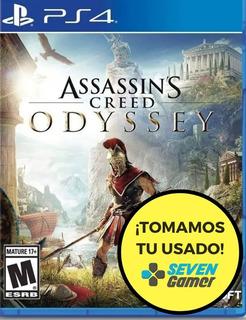 Assassins Creed Odyssey Ps4 Juego Fisico Canje / Venta