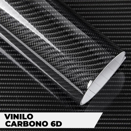 Vinilo Fibra De Carbono 6d Vehicular  152x50cm Capta