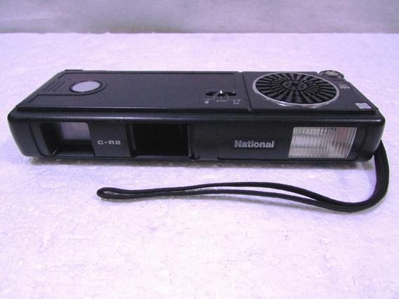 Maquina Fotografica Antiga National C-r2 Com Radio Am