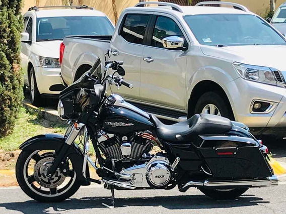 Harley-davidson Street Glide 2012 Importada Impecable Oportu