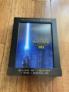 Star Wars The Force Awakens 3d Collectors Edition