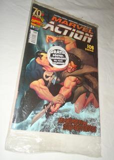 Hq Marvel Action 25 Pantera Negra Demolidor Cavaleiro Lua