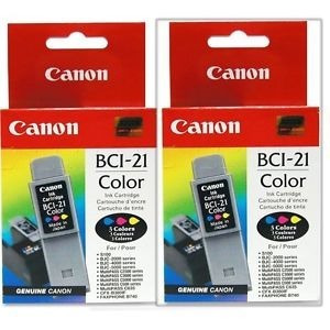 Cartucho Canon Color Bci-21 Original