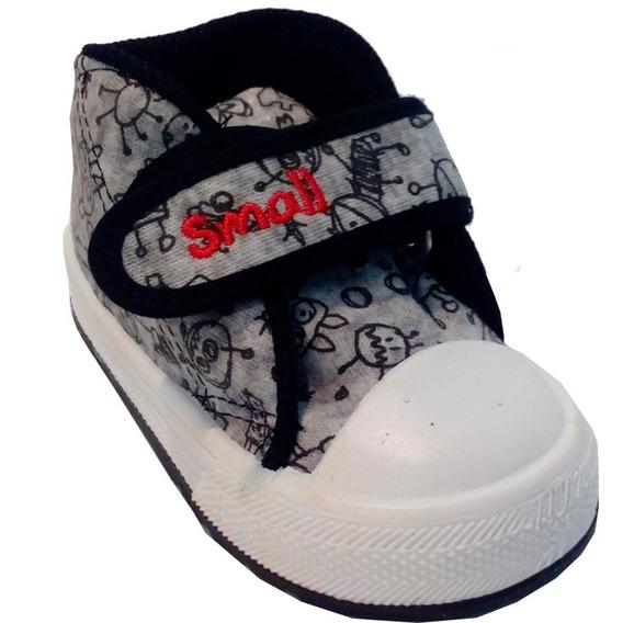 Zapatillas Botitas Niños Marca Small Modelo Nex (0122)