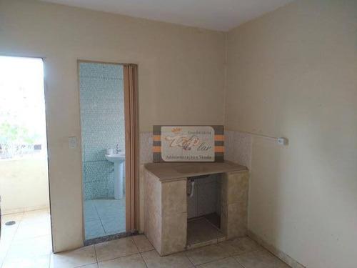 Casa Com 1 Dormitório Para Alugar, 32 M² Por R$ 650,00/mês - Jaraguá - São Paulo/sp - Ca0769