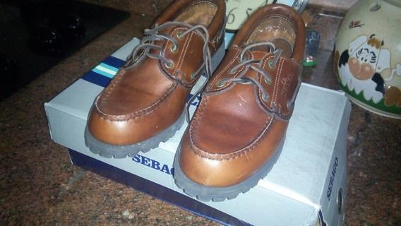Zapatos Sebago Dama Made In Usa Nuevos De Paquete!!!