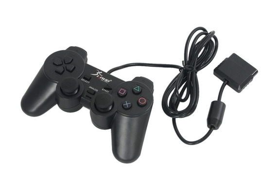 Controle Ps2 Playstation 2 Analógico Original Knup