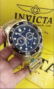 Relógio Original Invicta Pro Diver 0072 Na Caixa E Card