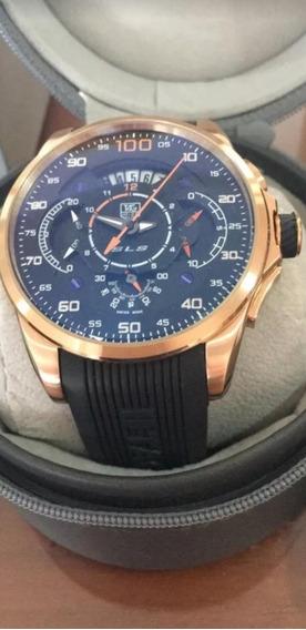 Relógio Tag Hauer Mercedes Benz Sls Pulseira De Borracha