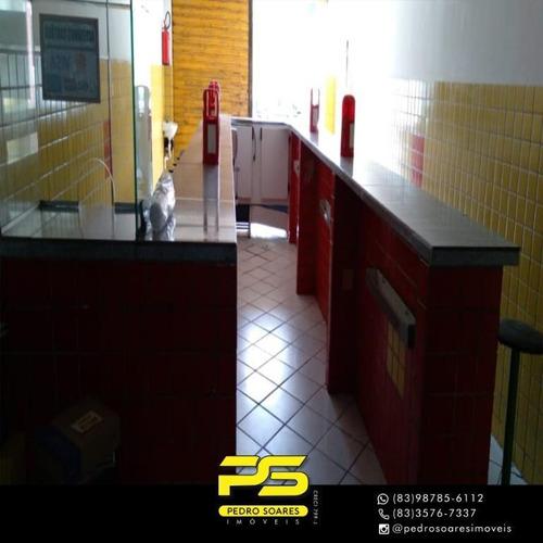 Imagem 1 de 4 de Prédio Para Alugar, 200 M² Por R$ 1.700/mês - Centro - João Pessoa/pb - Pr0040