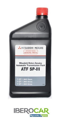 Aceite Atf - Sp Ill Original Mitsubishi Quarts 946 Ml.