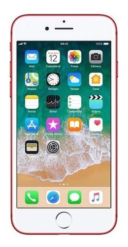 Celular Smartphone Apple iPhone 7 128gb Vermelho - 1 Chip