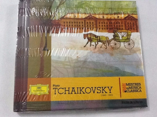 Cd Piotr Tchaikovsky Mestres Da Música Clássica Folha 8 Novo