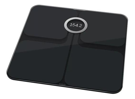 Bascula Inteligente Fitbit Aria Wifi Grasa Digital Negro