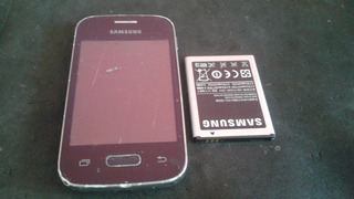 Smartphone Samsung Galaxy Pocket 2 Duos G110b - Não Liga