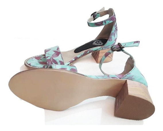 Sandalia Zapato Mujero Cuero Vacuno Liquidacion
