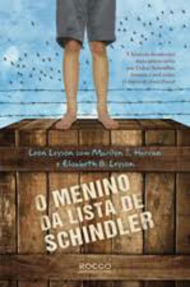 Livro O Menino Da Lista De Schindler, Autor Leon Leyson