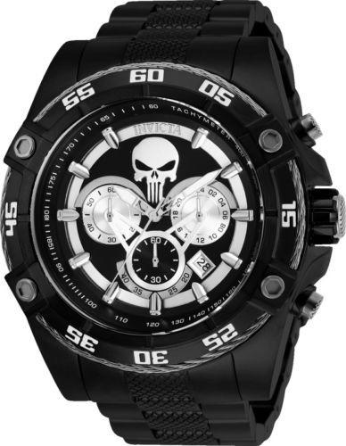 Relógio Invicta 26862 Masculino The Punisher Black Original