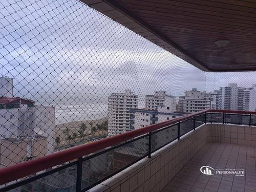 Imagem 1 de 26 de Cobertura Com 3 Dormitórios À Venda, 207 M² Por R$ 1.100.000,00 - Tupi - Praia Grande/sp - Co0004