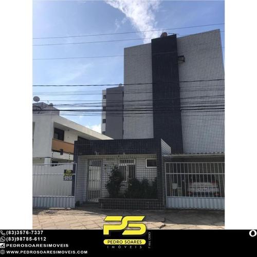 Apartamento Com 2 Dormitórios Para Alugar, 60 M² Por R$ 1.200,00/mês - Jardim Oceania - João Pessoa/pb - Ap4955