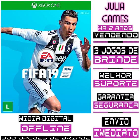 Fifa 19 Xbox One Digital Offline + Brinde