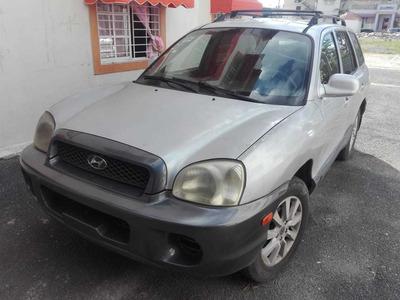 Hyundai Santa Fe Motor 2.0 2003 5 Puerta 4, Cilindro.