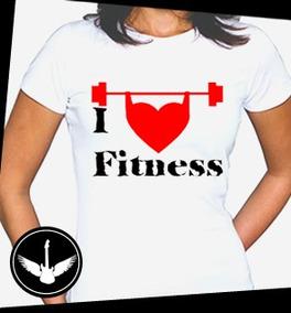 a21627b86c Camiseta Fitness Feminina I Love Spinning - Camisetas e Blusas em ...
