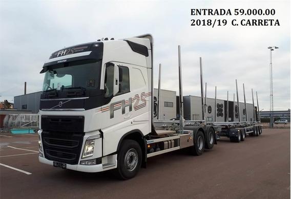 Fh 540 6x4 2018/19 Com Carreta Florestal