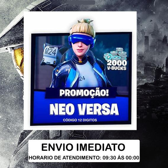 Fortnite - Epic Neo Versa Bundle + 2000 V-bucks Ps4 Bra/eua