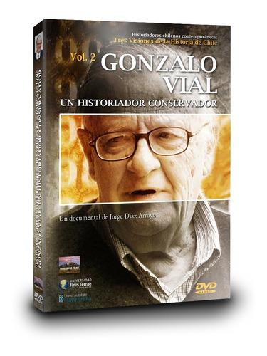Imagen 1 de 4 de Dvd Documental  Gonzalo Vial: Un Historiador Conservador