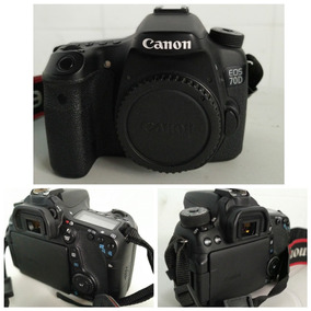 Kit Canon 70d+lentes+carregador+bolsa