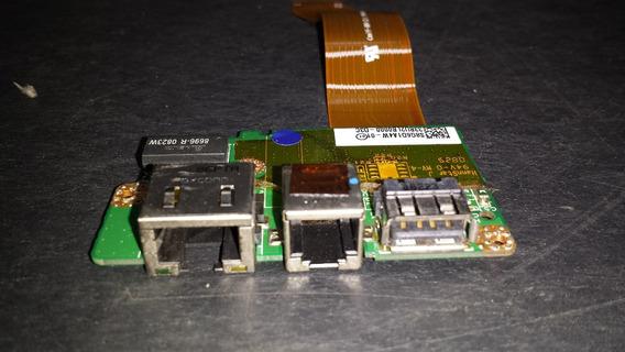 Placa Modem/lan/usb Toshiba Satellite M305d-s4831