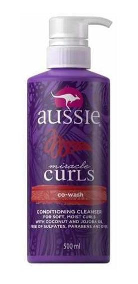 Condicionador Aussie Miracle Curls Co-wash 500ml