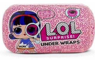 L.o.l Surprise Muñeca Under Wraps - Series Eye Spy 1a