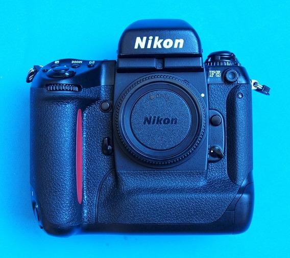 Nikon F5, Câmera Profissional Em Excelente Estado